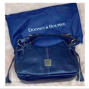 Dooney & Bourke • Pebbled Leather Satchel